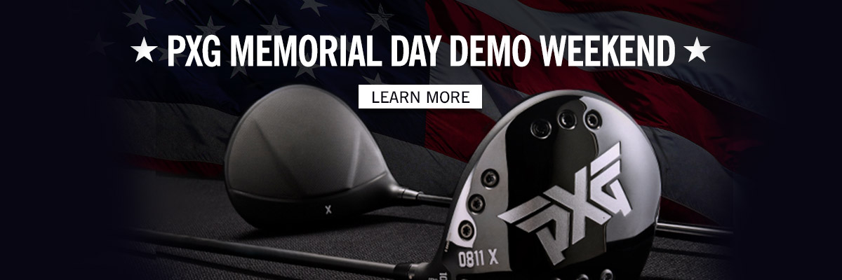 PXG Memorial Day Demo Weekend