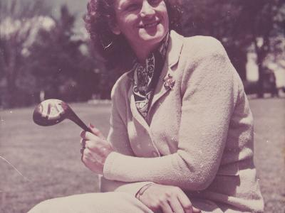 1948 Women's Open Champ, Babe Didrikson Zaharias - Played at ACCC