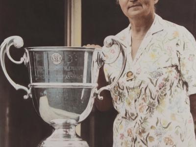Marge Mason, 1967 US Senior Open Champion