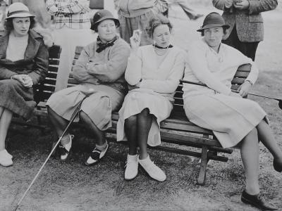 Women Players at Atlantic City Country Club, circa 1937