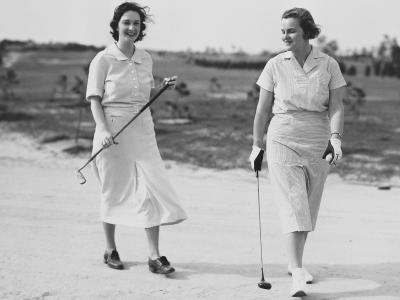 Women on the Course at Atlantic City Country Club, circa 1933