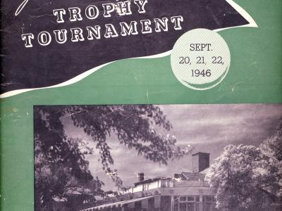 "James ""Sonny"" Fraser Tournament Program Cover"