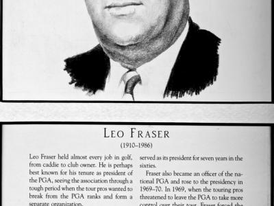 Leo Fraser, 1910-1986, Owner of Atlantic City CC, President of the PGA