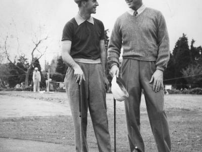 George Fazio, Canadian National Open Champ with Sonny Fraser at ACCCC