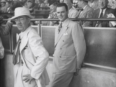 """James """"Sonny"""" Fraser at the Atlantic City Race Course, which he owned after ACCC"""