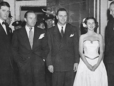 Mr. & Mrs. Sonny Fraser with Bob Hope