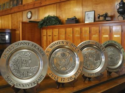 AC Country Club Commemorative Plates