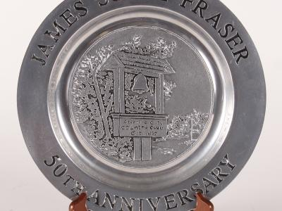 "50th Anniversary of the James ""Sonny"" Fraser Golf Tournament Plate"