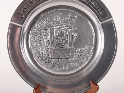 "James ""Sonny"" Fraser Golf Tournament Commemorative Plate"