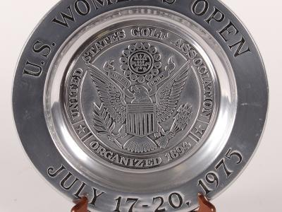 1970 US Women's Open Commemorative Plate