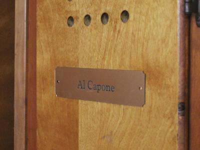 Al Capone's locker at Atlantic City Country Club