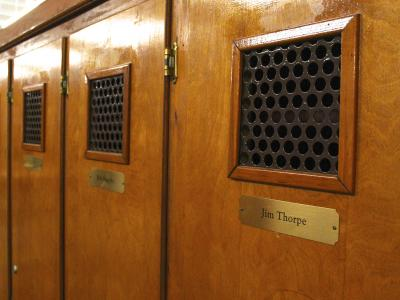 Jim Thorpe Locker at Atantic City Country Club