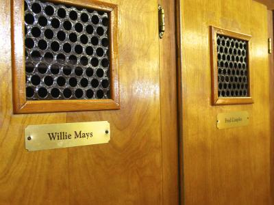 Willie Mays Locker at Atlantic City Country Club