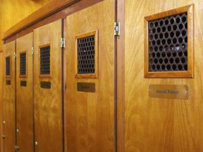 Arnold Palmer's Locker at ACCC - Played as Coast Guard Recuit in Cape May
