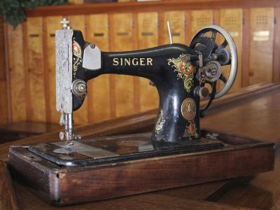 Sewing Machine used at Atlantic City Country Club